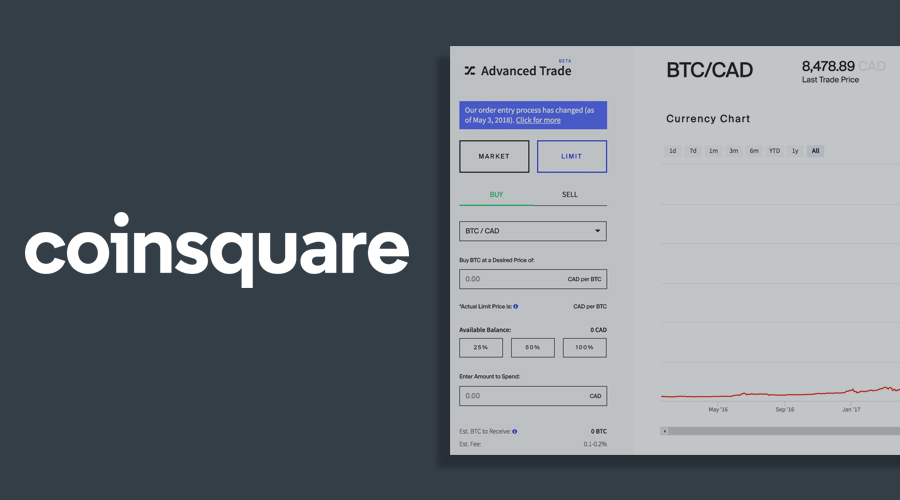 How to Buy Bitcoin on Coinsquare
